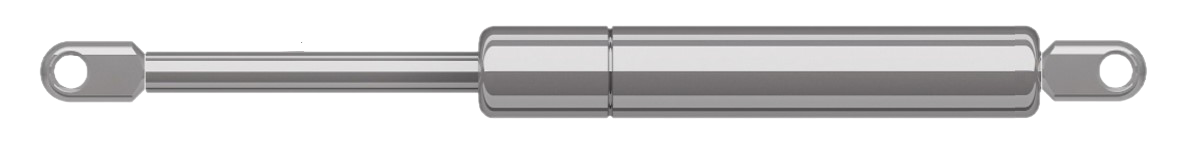 INOX Gas strut stainless steel with Eyelet for Marine applications